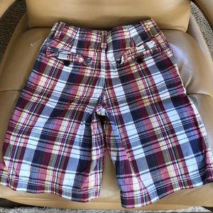Gap Bottoms - Gap Boys Plaid Shorts